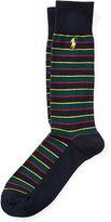 Polo Ralph Lauren Tartan Stripe Trouser Socks