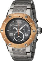 Invicta Men's 'Speedway' Quartz Stainless Steel Casual Watch, Color:-Toned (Model: 19635)
