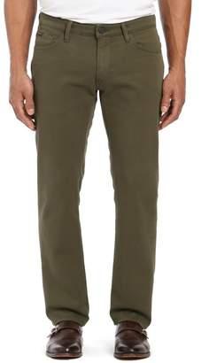 "34 Heritage Courage Straight Leg Twill Pants - 30-34\"" Inseam"