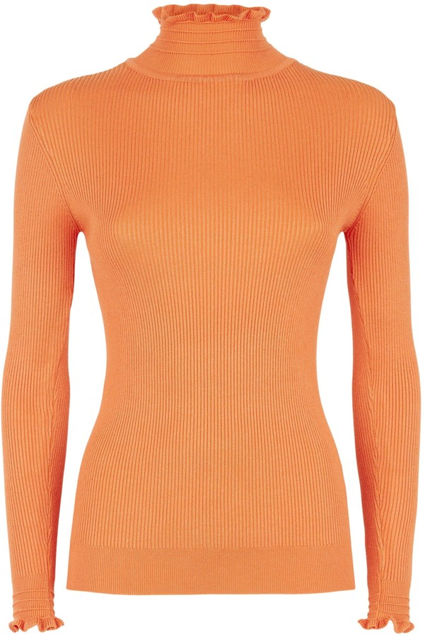 Thumbnail for your product : New Look Sunshine Soul Bright Ribbed Jumper