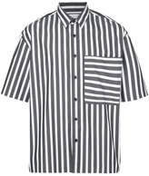 The Celect striped print shirt