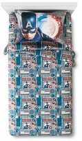 Marvel Captain America® Sheet Set Twin Multicolor