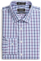 Nordstrom Smartcare(TM) Traditional Fit Plaid Dress Shirt