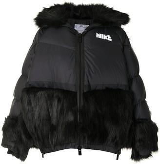 Nike x Sacai puffer jacket