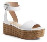 Via Spiga Womens Nemy Open Toe Casual Platform Sandals.