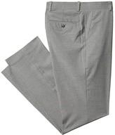 Perry Ellis Portfolio Slim Fit Check Dress Pants (Monument) Men's Dress Pants