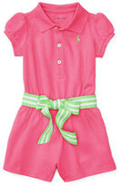 Ralph Lauren Childrenswear Polo Shortall with Sash