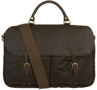 Barbour Wax Leather Briefcase
