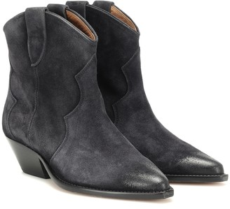Isabel Marant Dewina suede ankle boots