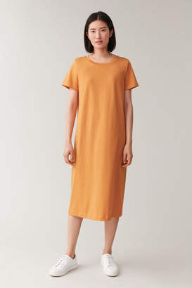 Cos COTTON T-SHIRT DRESS