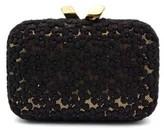 """Kotur Margo"""" Black Floral Lace Clutch"""