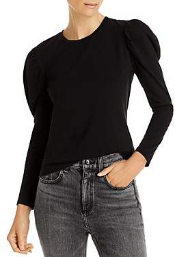 Aqua Puff Long Sleeve Knit Top - 100% Exclusive