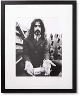Sonic Editions Framed Frank Zappa Print, 17 X 21 - Black