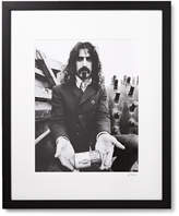 Sonic Editions Framed Frank Zappa Print, 17 X 21