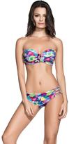 Agua Bendita 2017 Bendito Lienzo Bikini Top AF50217G1T