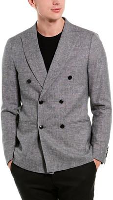 Reiss Ruck Linen & Wool-Blend Blazer