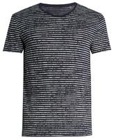Atm Crew-neck Striped Cotton-jersey T-shirt
