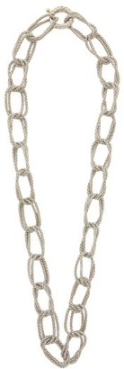 Rosantica Onore Oversized Chain Link Necklace - Womens - Silver