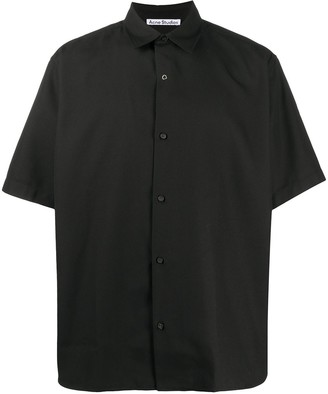 Acne Studios Loose-Fit Short-Sleeve Shirt