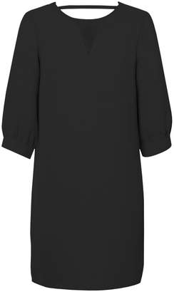 Vero Moda Mini Laced Shift Dress with Puff Sleeves