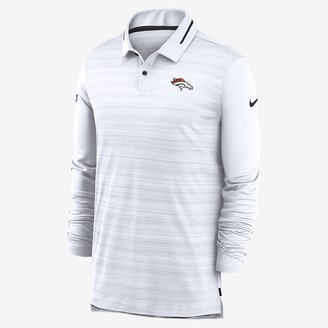 Nike Men's Long-Sleeve Polo Logo (NFL Broncos)