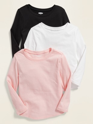 Old Navy Long-Sleeve Tee 3-Pack for Toddler Girls