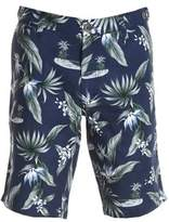 Eleventy Men's Multicolor Cotton Shorts.