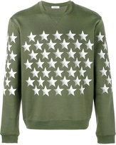 Valentino star printed sweatshirt - men - Cotton/Polyamide - S
