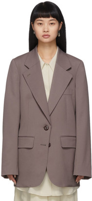 Lemaire Grey Wool Blazer