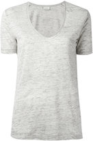 By Malene Birger Jyttio T-shirt - women - Linen/Flax - XS