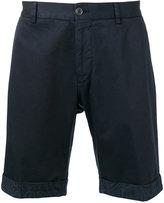 Etro embroidered tailored shorts - men - Cotton/Spandex/Elastane - 50
