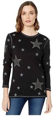Double D Ranchwear Stars At Midnight (Black) Women's Clothing