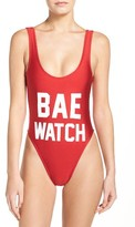 Private Party Women's Bae Watch One-Piece Swimsuit