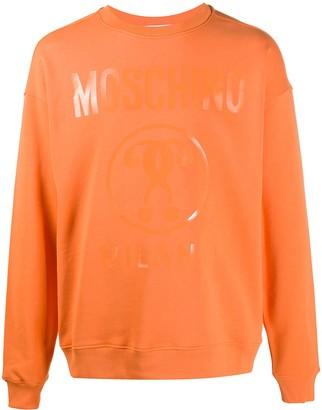 Moschino Logo-Print Sweatshirt