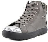 Aldo Sesame Women Leather Gray Fashion Sneakers.