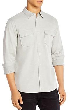 Frame Bedford Cotton Double Pocket Slim Fit Shirt