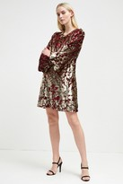 French Connection Ethel Sequin Tunic Dress