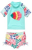 Crazy 8 Fish Rash Guard Set