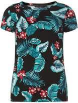 Dorothy Perkins Multi Coloured Tropical Print T-Shirt