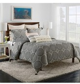 Cupcakes And Cashmere Dotted Medallion Duvet Cover