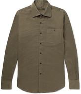 Freemans Sporting Club - Cutaway-Collar Cotton Shirt