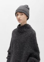 LAUREN MANOOGIAN Cashmere Felt Crown Beanie