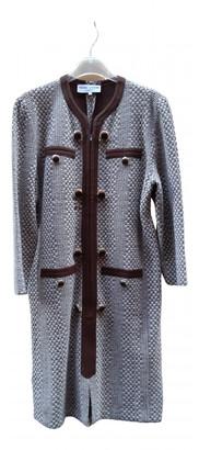 Pierre Cardin Beige Wool Dresses