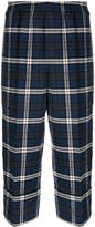 DSQUARED2 checked cropped trousers