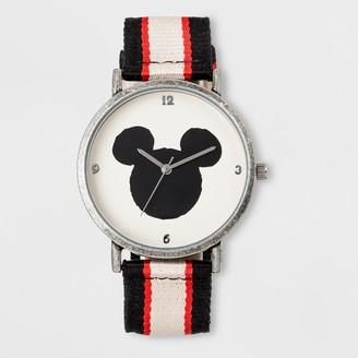 Disney Boy' Diney Mickey Moue Watch - Black/White/Red