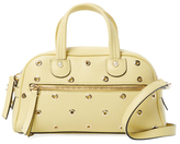 RED Valentino Grommet Small Leather Satchel