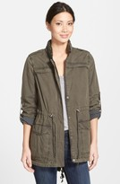 Levi's Women's Lightweight Cotton Hooded Utility Jacket