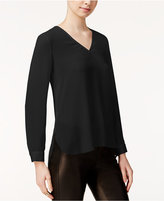 Bar III Sheer High-Low Top, Only at Macy's