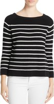 Suncoo Polly Striped Ribbed Sweater
