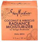 Shea Moisture Coconut & Hibiscus Radiance Moisturizer for Unisex, 2 Ounce